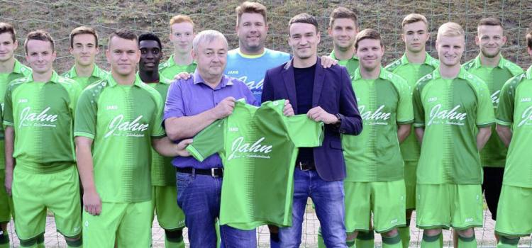 1.FC Greiz – Neuer Trikotsponsor der 1.Mannschaft